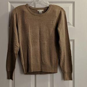 H&M Beige Sweater XS